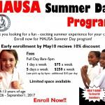 Summer Program 2017